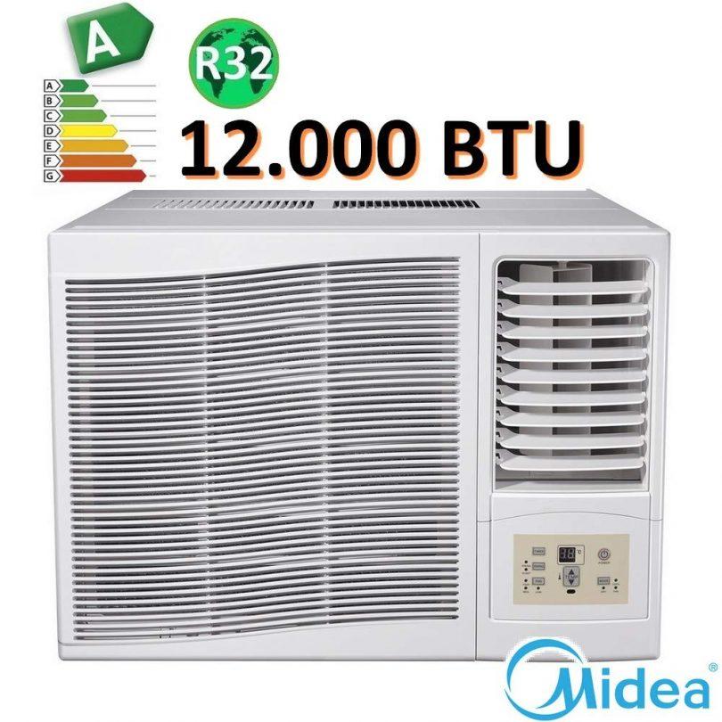 Climatiseur fenêtre monobloc 12000 BTU Midea