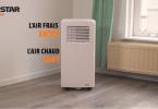 climatiseur mobile TristarAC-5477 en fonctionnement
